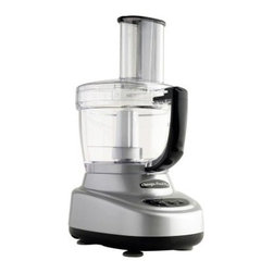 Omega O660 Food Pro 11- cup Premier Food Processor - Highly efficient, compact, and powerful, the Omega O660 Food Pro 11-cup Premier Food Processor is designed for commercial use, but is versatile enough for the home. Fitted with a 250-watt food processor for lightning-speed slicing, the Omega Premier food processor features an oversized, 11-cup work bowl and 4-cup mini chopper. A slicing disk, shredding disk, dough blade, disk adapter, and spatula are included.About Omega ProductsFounded by Robert Leo in 1985, Omega Products has been guided by a clear vision for innovative, reliable, and efficient appliances designed to suit health-conscious consumers. Driven by a passion for healthy living, Omega Products include a range of blenders and juicers designed for professional, reliable performance that makes them ideal for commercial use. Omega's flagship product, the juicer, continues to be the only product on the market that offers centrifuge, masticating and pulp-ejection technology, which ensures the healthiest juice product possible, loaded with nutrients and healthy enzymes. Omega has consistently raised the bar in juicer engineering and design, and the company's products continue to evolve, incorporating the latest technological advancements.