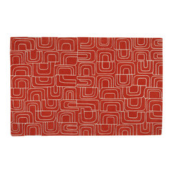 Archie, Hand-Tufted Wool Rug - Archie is an organic geometric design that captures a playful and sophisticated spirit, bringing happiness, beauty and comfort to our homes. Hand-tufted with either 100% New Zealand wool or a pure silk and wool combination. Cut and loop pile.