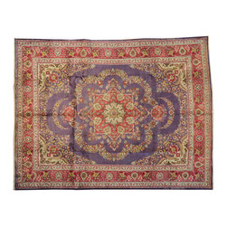 1800-Get-A-Rug - Mint Cond Oriental Rug Hand Knotted Rug Tabriz Oriental Rug Sh12929 - About Antique & Semi Antique