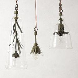 Robert Ogden - Iron Petals Pendant Lamp - *By Robert Ogden
