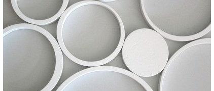 Mod Wall Art: Wallter Circles (Set of 8)