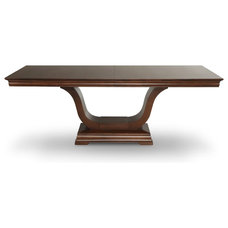 Transitional Dining Tables by Woodcraft Furniture