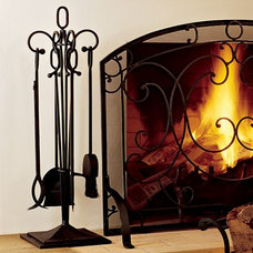Traditional Fireplace Accessories by Pottery Barn
