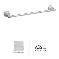 "Rohl - Rohl CIS1/18APC Polished Chrome Cisal Cisal 18"" Towel Bar - Cisal 18"" Towel BarRohl's Cisal Classic collection of bathroom faucets and fixtures features traditional design elements meant to create a focal point. This family is manufactured in the Italian town of Alzo, which was once renowned for making bronze church bells. Today, Alzo is widely regarded as the ""Village of the Faucets,"" and Rohl's Cisal Classic collection employs bell-shaped bases of the spout handles as a tribute to the town's history. This family features a wide range of bathroom faucets, like single and double handle, as well as single hole, centerset, and widespread configurations. These products feature brass construction and are available in five finish options.Rohl CIS1/18 Features:All brass construction – weight: 2 lbs.Superior finishing process – chemical, scratch, and stain resistantTowel bar length: 18""Easy to clean and installExtra secure mounting assemblyAll mounting hardware includedComplements: Cisal Bath, Verona, and AllesandriaFully covered under Rohl's limited lifetime warrantyManufactured in New Zealand, Western Europe, and/or North AmericaAbout Rohl:Excellence, durability, and beauty. Family values, integrity, and innovation. These are all terms which aptly describe Rohl and its remarkable selection of kitchen and bathroom faucets and fixtures. Since 1983, Rohl has maintained a commitment to providing high-quality plumbing products for residential and commercial applications, while assuring these fixtures would make a difference in the overall décor in the living space. With a dedication to excellence throughout the home, Rohl has been satisfying homes, schools, hospitality venues, and restaurants all around the world. Rohl specializes in providing timeless designs for every type of theme, including traditional, transitional, and modern. When Rohl suggests its products reflect the feel of a certain area out"