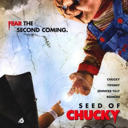 Child's Play 5: Seed of Chucky 11 x 17 Movie Poster - Style B - Child's Play 5: Seed of Chucky 11 x 17 Movie Poster - Style B Brad Dourif, Jennifer Tilly, Billy Boyd, Debbie Lee Carrington, Stephanie Chambers, Tony Gardner, Shannon Munsey, John Waters.