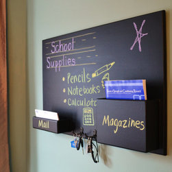 Small Mail Organizer Chalkboard - **FEATURED ON DIY's I WANT THAT!**