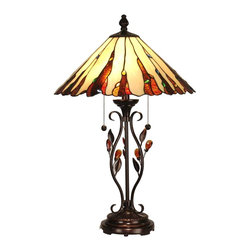 Dale Tiffany - Dale Tiffany Ripley Lamp Nature-Inspired - Product Details