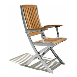 Luna Folding Chair By Design Kollection - The Luna Folding Chair is a perfect choice. Flaunting a stunning design contemporary looks and a well-defined wooden structure.