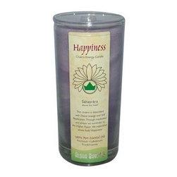 Aloha Bay Chakra Candle Jar Happiness - 11 Oz - Aloha Bay Chakra Candle Jar Happiness Description: