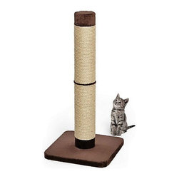 Mid-West Homes for Pets - MidWest Feline Nuvo Grande Forte Scratch Post Multicolor - 135F-BR - Shop for Cat Scratchers and Accessories from Hayneedle.com! The Midwest Feline Nuvo Grande Forte Scratch Post provides your cat the ultimate place to stretch and scratch to their hearts' desire. Wrapped with a hefty sisal construction this scratching post stands three feet tall and features an oversized faux fur base in a neutral brown for stability. Perfect for multi-cat households this scratching post helps to elevate destructive scratching is ensures an ample play area for even the largest of cats.About Mid-West Metal Products/Midwest Homes for PetsIn 1921 Mid-West Metal Products made only one item a Kruse Switch Box Support and over the years began manufacturing millions of wire and sheet metal component parts. By 1960 they were producing training crates for pets. Today Midwest Homes for Pets a division of Mid-West Metal Products produces and markets a variety of pet containment products. These products include dog crates training puppy crates dog kennels cat playpens bird cages vehicle barriers soft-sided carriers grooming tables and much more. They also manufacture a full line of pet accessories like beds and feeding dishes.