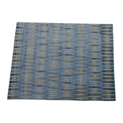 1800GetARug - Hand Knotted Rug Geometric Design Modern Bamboo Silk Sh14133 - About Modern & Contemporary