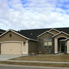 Traditional Exterior by Boise Hunter Homes