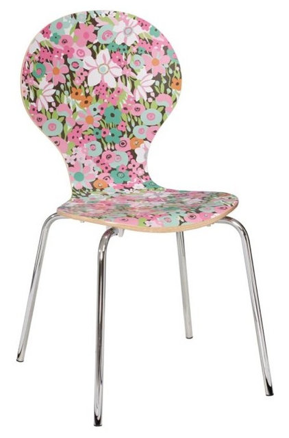 eclectic chairs by PBteen