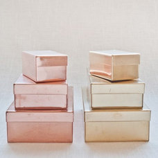 Contemporary Decorative Boxes by Muhs Home