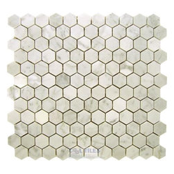 Clear View Tiles | 030-15-07 | White Carrara | Tile -