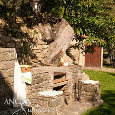 Mediterranean Outdoor Grills by Ancient Surfaces