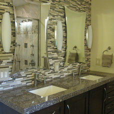 Contemporary Bathroom by Solid Surfaces Unlimited