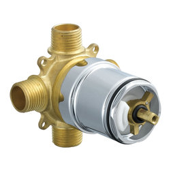 Delta Pressure Balance Valve Body - PTR188700-UN - Designed for performance, the understated and elegant Classic Bath Series withstands the test of time in any setting.