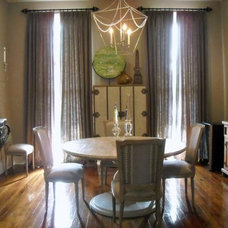 traditional dining room by Eclectic Home,LLC