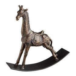 Rocking Giraffe Sculpture - Rocking Giraffe Sculpture