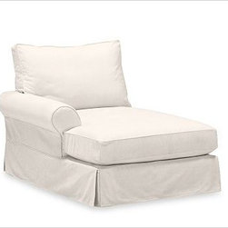 PB Comfort Roll Arm Left Arm Chaise, Polyester Wrap, Twill Cream - Sink into this comfort sectional just once, and you'll know how it got its name.With extra-deep seats and three layers of thick padding on the arms and back, these eco-friendly components provide roomy comfort for the whole family. {{link path='pages/popups/PB-FG-Comfort-Roll-Arm-4.html' class='popup' width='720' height='800'}}View the dimension diagram for more information{{/link}}. {{link path='pages/popups/PB-FG-Comfort-Roll-Arm-6.html' class='popup' width='720' height='800'}}The fit & measuring guide should be read prior to placing your order{{/link}}. Choose polyester wrapped cushions for a tailored and neat look, or down-blend for a casual and relaxed look. Choice of knife-edged or box-style back cushions. Proudly made in America, {{link path='/stylehouse/videos/videos/pbq_v36_rel.html?cm_sp=Video_PIP-_-PBQUALITY-_-SUTTER_STREET' class='popup' width='950' height='300'}}view video{{/link}}. For shipping and return information, click on the shipping tab. When making your selection, see the Quick Ship and Special Order fabrics below. {{link path='pages/popups/PB-FG-Comfort-Roll-Arm-7.html' class='popup' width='720' height='800'}} Additional fabrics not shown below can be seen here{{/link}}. Please call 1.888.779.5176 to place your order for these additional fabrics.