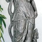 "Diana The Huntress Statue - Dimensions: 60"" H Base: 16"" x 16"""