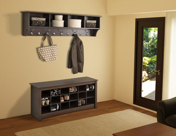 Contemporary Accent And Storage Benches by Prepac Furniture