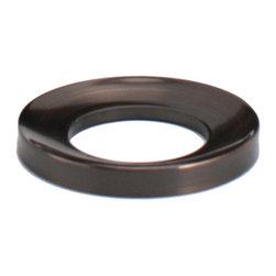 Eden Bath - Eden Bath MR01RB Vessel Sink Mounting Ring - Oil Rubbed Bronze - Vessel sink mounting ring for use with glass vessel sinks  or any bowl shaped vessel sink that does not have a flat bottom. The mounting ring goes between your glass vessel sink  and the countertop.