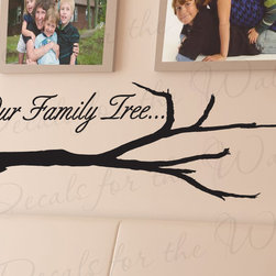 Decals for the Wall - Wall Quote Decal Sticker Vinyl Art Lettering Decoration Our Family Tree Love F62 - This decal says ''Our Family Tree''