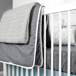 OLLI+LIME TWIG QUILT IN CHARCOAL -