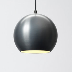 """&Tradition - Copenhagen - &Tradition - Copenhagen Topan Pendant Light - The Topan pendant light was designed by Verner Panton for & Tradition in 1959.  This contemporary pendant light adds a festive look when hung in clusters, great for restraurants and hotels.  The Topan pendant light is made from hollowed out aluminum with a laquered finish that is available in eight vibrant colors.     Product description: The Topan pendant light was designed by Verner Panton for &Tradition in 1959.  This contemporary pendant light adds a festive look when hung in clusters, great for restraurants and hotels.  The Topan pendant light is made from hollowed out aluminum with a laquered finish that is available in eight vibrant colors.  The Topan comes with 9 feet or 274 centimeters of cable.            Details:                         Manufacturer:                        & Traditions                                                 Designer:                        Verner Panton                                         Made in:                        Denmark                                         Dimensions:                        Width: 8.2""""(22 cm) X Height: 7"""" (18 cm)                                          Light bulb::                        1 X 40 W Max E27 incandescent                                         Material:                                                                                    aluminum"""