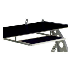 Pitstop Furniture - Pitstop Black GT Spoiler Desk Pull Out Tray - Pitstop Black GT Spoiler Desk Pull Out Tray