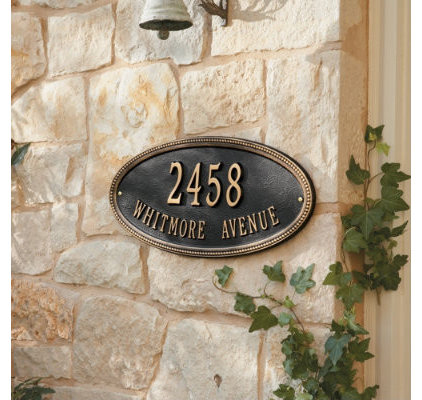 Traditional House Numbers by Ballard Designs