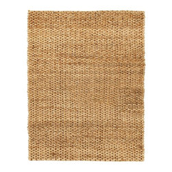 Anji Mountain - Cira Jute Rug - 9' x 12' - Jute brings a magnificent, chunky texture to any space. These rugs are expertly handloom-woven by skilled weavers who employ a variety of traditional techniques to create these simply beautiful styles. Jute fibers exhibit naturally anti-static, insulating and moisture regulating properties. It is predominantly farmed by approximately four million small farmers in India and Bangladesh and supports hundreds of thousands of workers in jute manufacturing (from raw material to yarn and finished products).