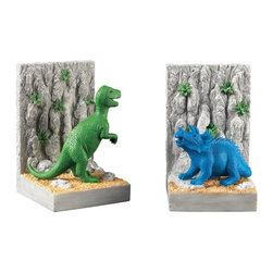 Joshua Marshal - Kids Dinosar Bookends - KIDS DINOSAR BOOKENDS