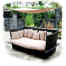 Mediterranean Outdoor Sofas by Cassidy Interiors