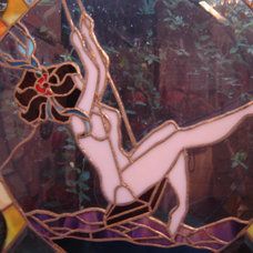 Eclectic Artwork by Stone Carving and Glass Creations