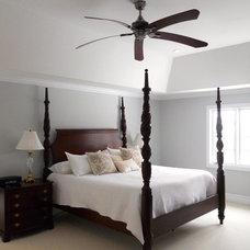 Traditional Bedroom by Susan Muschweck Interior Design, LLC