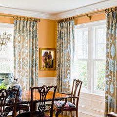 traditional dining room by Katie Rosenfeld Design