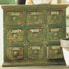 Herbal Apothecary Cabinet -