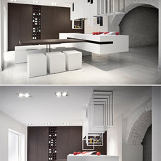 The Cut: Customizable Kitchen Slides to Suit Your Whims | Designs & Ideas on Dor
