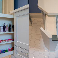 traditional bathroom vanities and sink consoles by Steven Cabinets