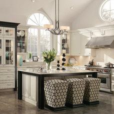 Transitional Kitchen by KraftMaid