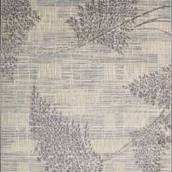 "Nourison - Nourison Utopia UTP02 (Champagne) 5'3"" x 7'5"" Rug - This Power Loomed rug would make a great addition to any room in the house. The plush feel and durability of this rug will make it a must for your home. Free Shipping - Quick Delivery - Satisfaction Guaranteed"