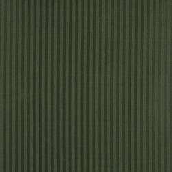 Dark Green Two Toned Stripe Upholstery Fabric By The Yard - P3411 is great for residential, and commercial applications. This fabric will exceed at least 35,000 double rubs (15,000 is considered heavy duty), and is easy to clean and maintain.