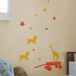 Blik - Blik Bambinis Wall Stickers - Decorate your home with these revamped childhood faves. These striking graphics are sure to bring joy and character to your space! Includes: