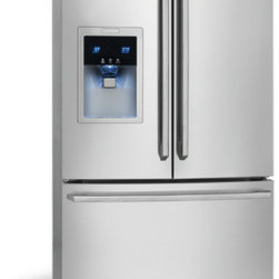 Counter-Depth French Door Refrigerator with Wave-Touch® Controls by Electrolux - Perfect Temp® Drawer with Luxury-Close