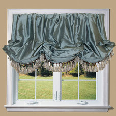 Traditional Roman Blinds by Drea Custom Designs