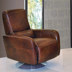Celestino Modern Leather Recliner Chair -