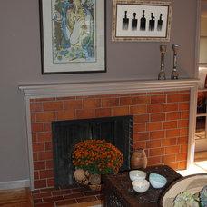 Eclectic Living Room by Jen Duchene